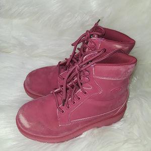 Pink Lugz Flexastride Women's Work Boot Style US 6